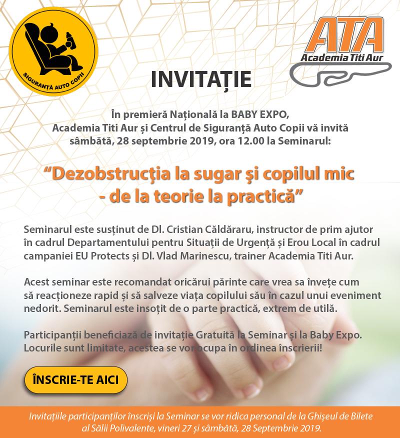 Invitatie Seminar