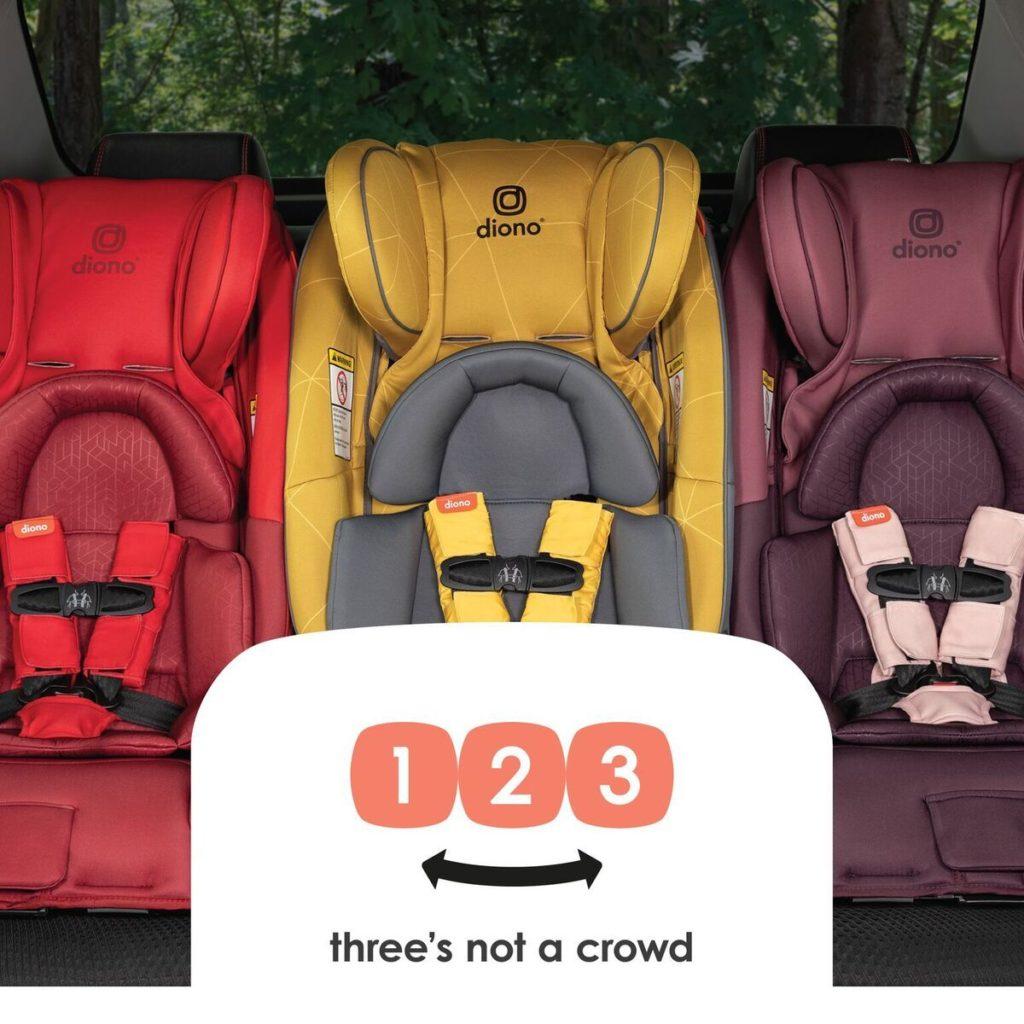 Cum transport 3 copii intr-o masina